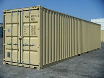 40'HC TAN RAL 1001 shipping containers